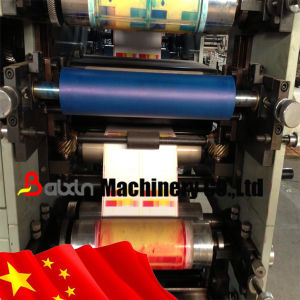 Textile/Ribbon/Paper/Satin/Washable Labels Flexo Label Printing Machine/Flexographic Label Printing Machine pictures & photos