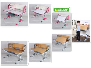 Istudy Ergonomic Desktop Adjustable Wooden Kids Furniture Amazing Table pictures & photos