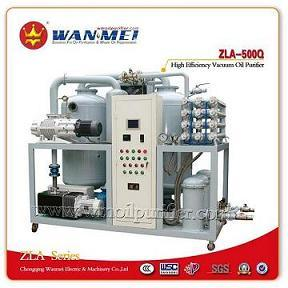 Professional Zla Series Double-Stages High Efficiency Transformer Oil Filtration Plant