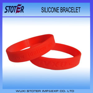 All Colors Band Custom Logo Silicone Rubber Wristbands