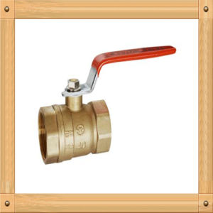 Ks Approved Brass Ball Valve for Gas and Water Use