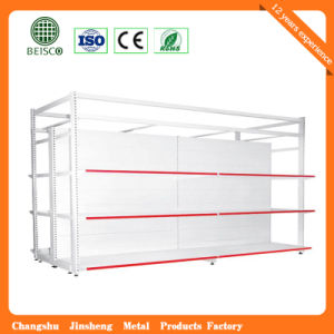 Heavy Duty Four Column Style Hypermarket Display Rack pictures & photos