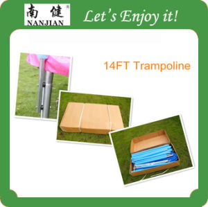 2014 Newest China Cheap Trampoline Tent with Ladders 6-16ft pictures & photos