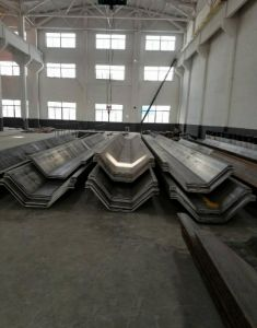 Steel Sheet Pile with Thick Wall pictures & photos
