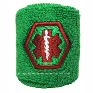 High Quality Custom Cloth Sport Wristband pictures & photos