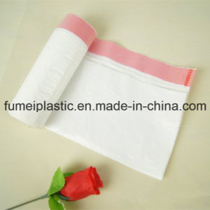 Convenient and Practical Plastic Disposable Drawstring Garbage Bags