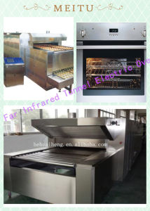 2015 Sh 1250kg/H High Quality Large Output Control Flexibility Far Infrared Tunnel Electric Oven pictures & photos