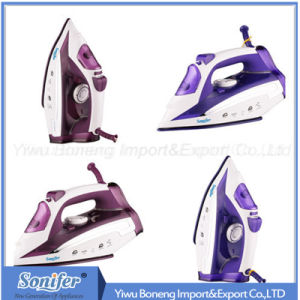 Travelling Steam Iron Sf-9003 Electric Iron with Ceramic Soleplate (Purple) pictures & photos