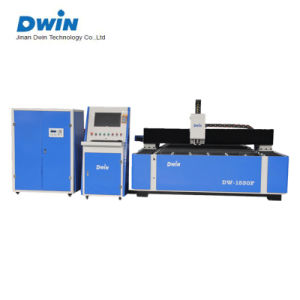 Fiber Metal Laser Cutter Applied in Elevator Field Dw1325 pictures & photos