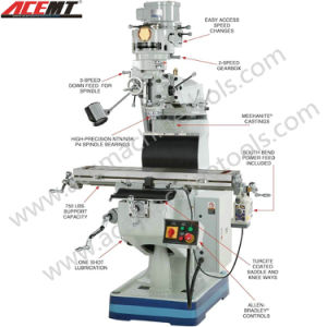 "Universal Milling Machine (8""X36""/9""X36""/10""X40"") pictures & photos"