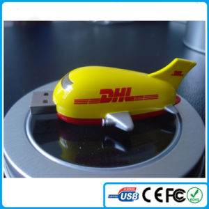 China Best Selling Items Custom Plane PVC USB for Corporate Gifts