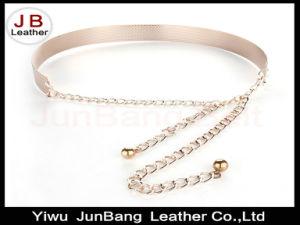 Women Gold/Silver Full Metallic Bling Mirror Plate Belt