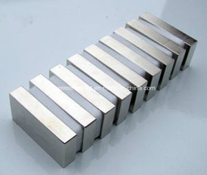 Strong N50 Ni Coating Block Sheet Magnets pictures & photos