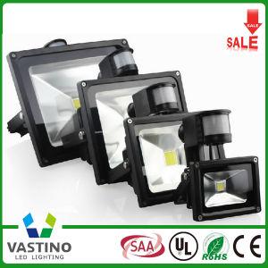10-50W PIR Sensor LED Flood Light