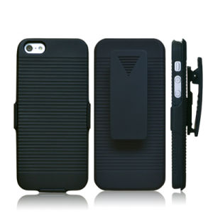Universal Belt Clip Holster Combo Cellphone/Mobile Case with Kickstand for iPhone 5