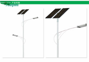Latest Wholesale 80W Split Solar LED Street Light with 10m Pole pictures & photos