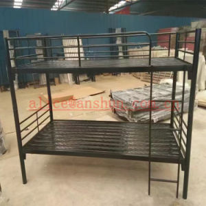 Jas-086 Iron 2 Tier Bed / Two Level Bed / Metal Frame Bunk Beds pictures & photos