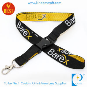 Woven Lanyard for Promotion with Safety Buckle pictures & photos