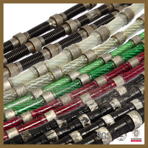 Diamond Wire Saw for Granite and Sanstone Cutting pictures & photos