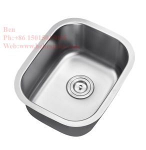 """15""""X18-1/2"""" Stainless Steel Single Basin Bar Sink pictures & photos"""