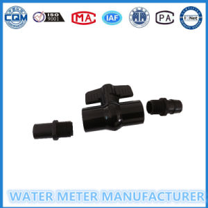 Threaded Connection 1/2 Inch PVC Ball Valve with End Pieces pictures & photos