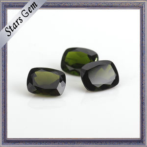 Octagon Shape Natural Cutting Natural Diopside Stones pictures & photos