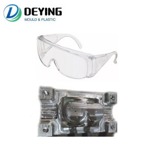 Plastic PC Medical Glasses Mould Injection Ready Mold