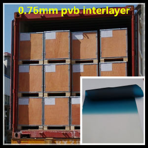 Color 0.76mm PVB Interlayer for Car Windshield pictures & photos
