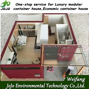 Prefab Container House for Sale (Smart type, normal type, luxury type, simple type are all available) pictures & photos