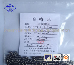 2.5X0.45X12 Wire Thread Insert Fasteners