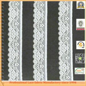 Nylon Jacquard Allover Bridal Fabric Lace Trim (X6343)