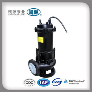 Shanghai Kaiyuan Qw Submersible Vertical Sewage Pump pictures & photos