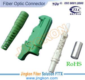 E2000/APC Fiber Optic Connector