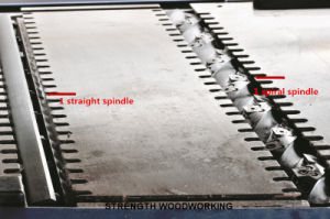 Auto Feeding Bench Planer with Spiral Blade Woodworking Machinery pictures & photos