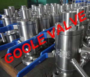 3 PCS Flange-Fnpt Dbb Ball Valve (GADBB411F) pictures & photos