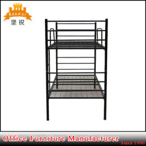 School Popular Strong Metal Bunk Bed pictures & photos