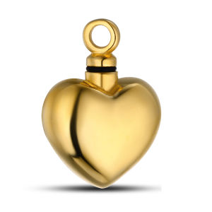 Hollow Inside Ashes Urn 18k Gold Plated Cremation Pendant pictures & photos