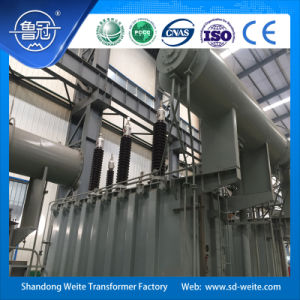 132kV Oil-Immersed two windings, off-load voltage regulation Power Transformer