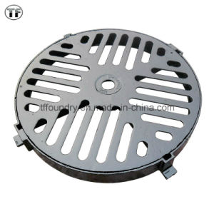 BS En124 Cast Iron Municipal Drainage and Sewerage Round Gratings