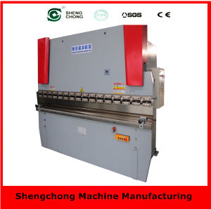Hydraulic Press Brake Bendingl with CE & ISO (WC67Y 125T/3200)