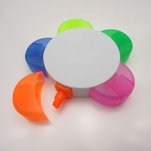Promotional 5 In1 Flower Shape Highlighter pictures & photos