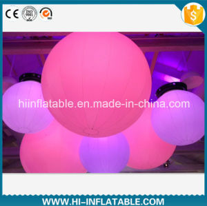 Hot Sale Wedding Party, Stage Decoration Inflatable Ground Ball Balloon with LED Light for Sale