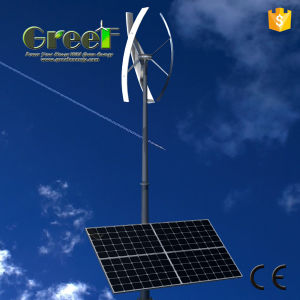 Wind Solar Hybrid Power System with Vertical Axis Turbine pictures & photos