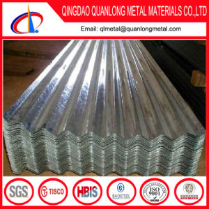 Soft Galvalume Corrugated Roofing Sheet with Zero Spangle pictures & photos
