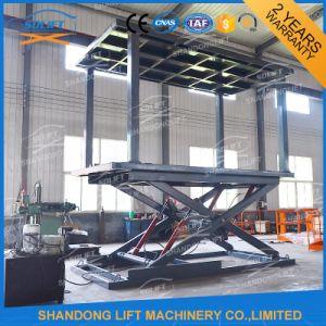 Hydraulic Double Platform Scissor Car Auto Lift with Ce pictures & photos