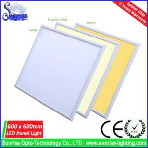 85lm/W 36W 600X600mm Square LED Panel