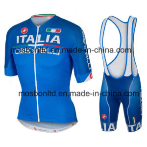 2016 Italia Cycling Jersey and Bib Shorts Set pictures & photos