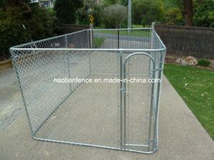 2015 New Wholesale Outdoor Large Chain Link Dog Run Kennels pictures & photos