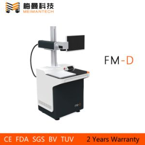 Desktop Fiber Laser Marking Machine with Multifunctional Touching Operating System (FM-D 30W) pictures & photos