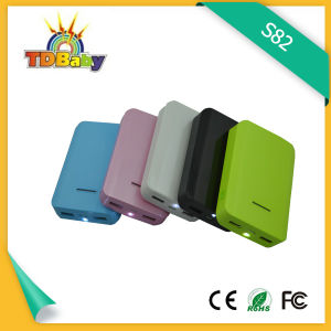6000mAh Varnish UV High Capacity Power Bank (S82)